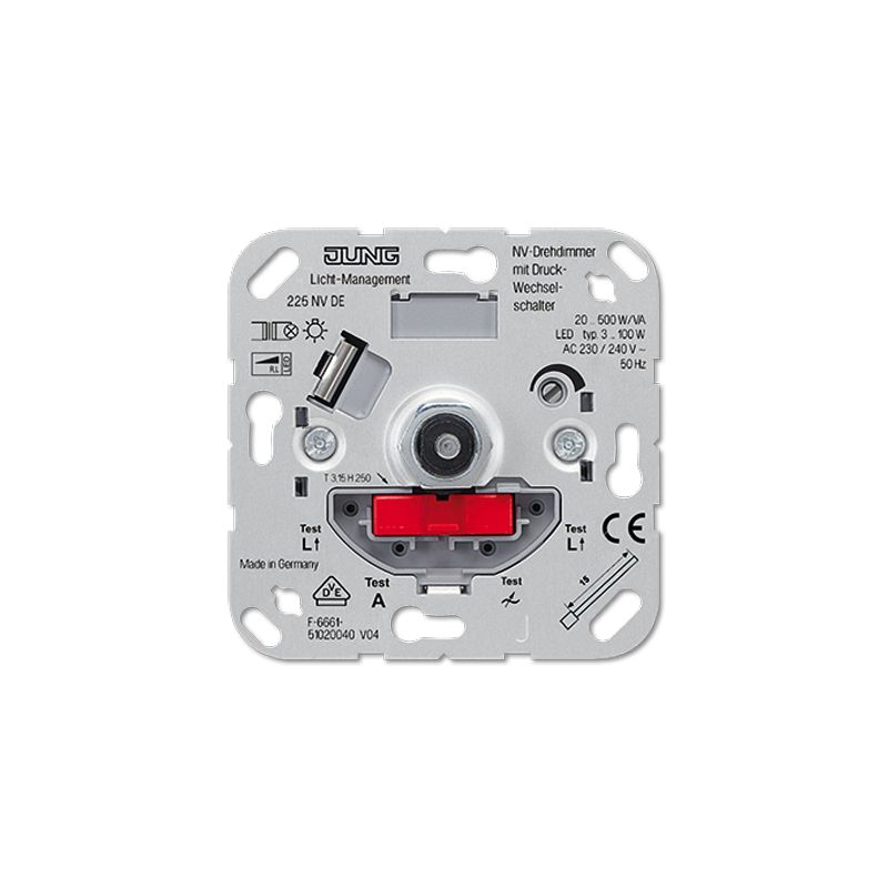 Regulador intensidad giratorio Jung 225NVDE