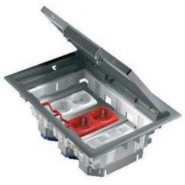 ISM50330 Caja Conexiones, registro o cubeta suelo Schneider Electri New Unica System 222x183x95mm