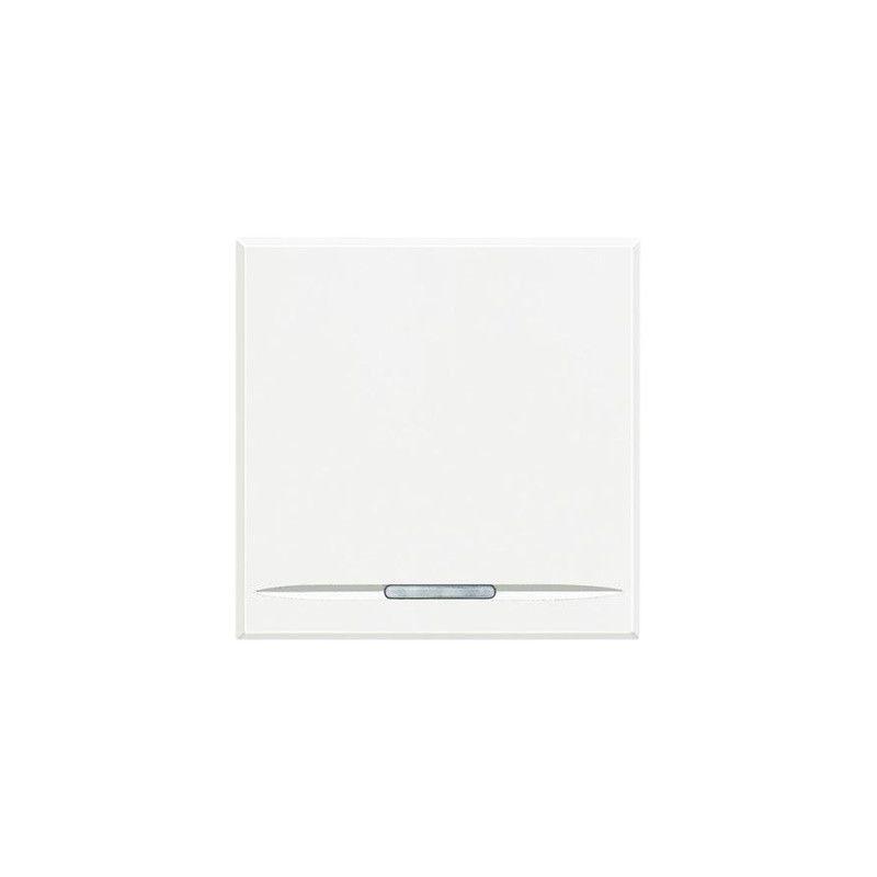 Interruptor ancho blanco basculante de BTicino Axolute HD4051M2A