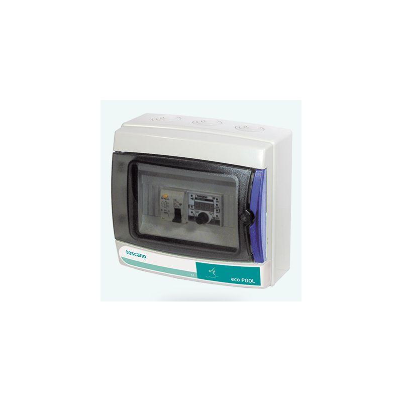 Cuadro monofásico digital protección piscina ECO-Pool 230-D