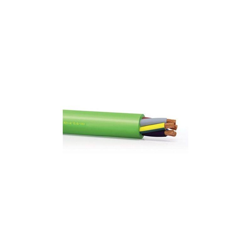 Metro manguera 5x1,5mm RZ1-K 0,6/1KV LH verde