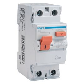 Diferencial 2P 40A 30mA tipo AC Hager CD748V