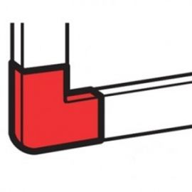 Ángulo plano variable 40x20mm PVC blanco DLPlus Legrand