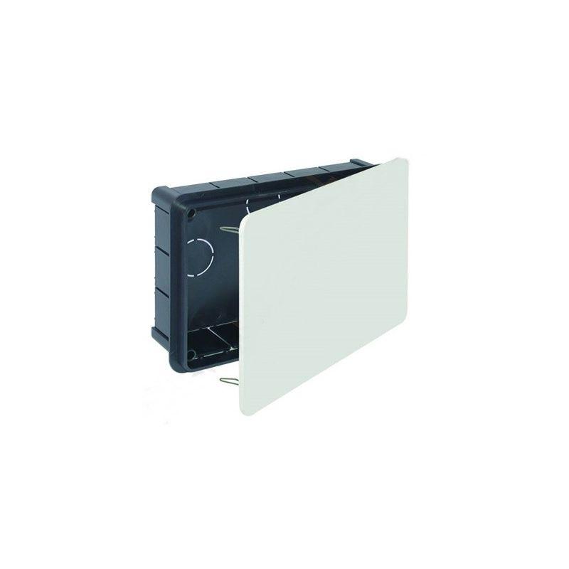 Cajas de pladur tabique hueco SOLERA Caja empalme empotrar tabique hueco 164x106x47 tapa con garras 5563
