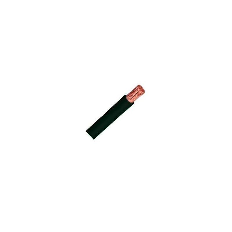 Cable libre de halógenos flexible 2,5 mm2 negro H07V-K