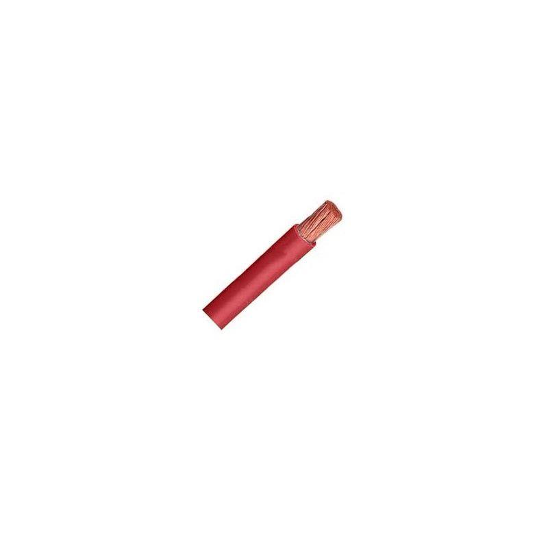 Cable libre de halógenos flexible 1,5 mm2 rojo H07V-K