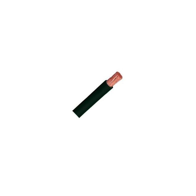 Cable unipolar flexible 1,5 mm2 negro H07V-K