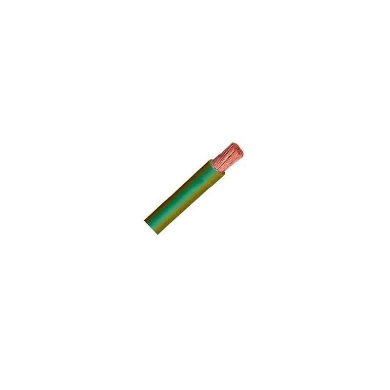 Cable unipolar flexible 1,5 mm2 amarillo y verde H07V-K