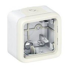 Caja superficie 1 elemento blanca Legrand Plexo 069689