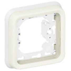 Marco 1 elemento blanco Plexo Legrand 069692