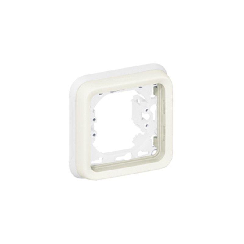 Interruptores y Enchufes por marca LEGRAND Marco 1 elemento blanco Plexo Legrand 069692