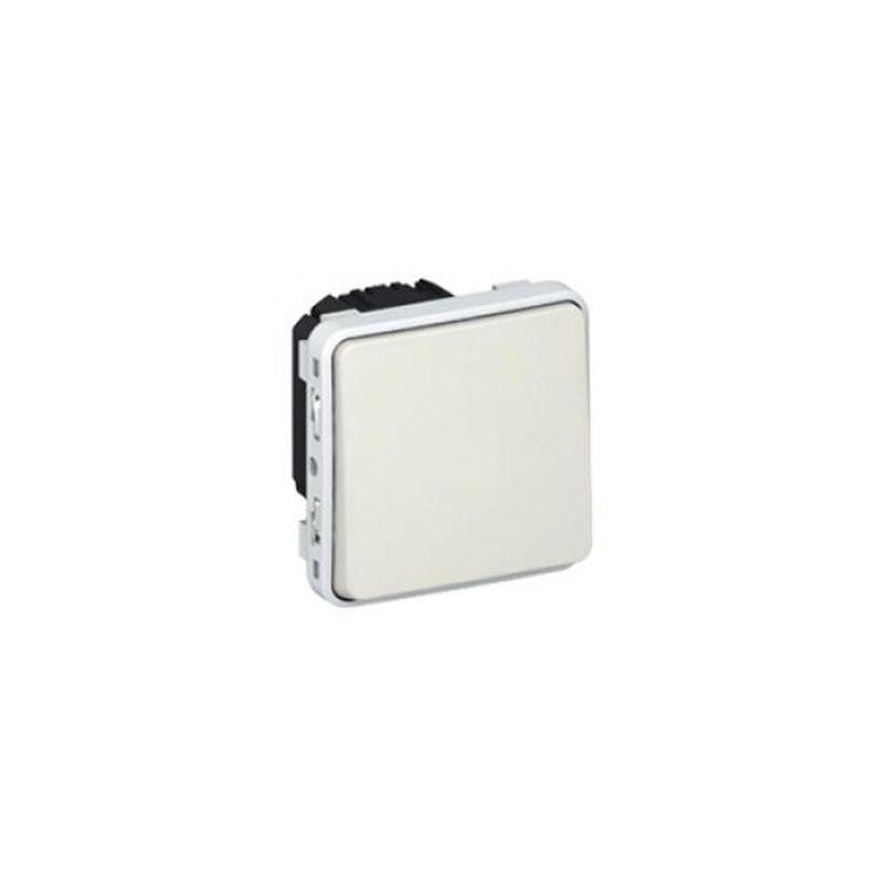 Interruptores y Enchufes por marca LEGRAND Pulsador componible blanco Legrand Plexo 069630