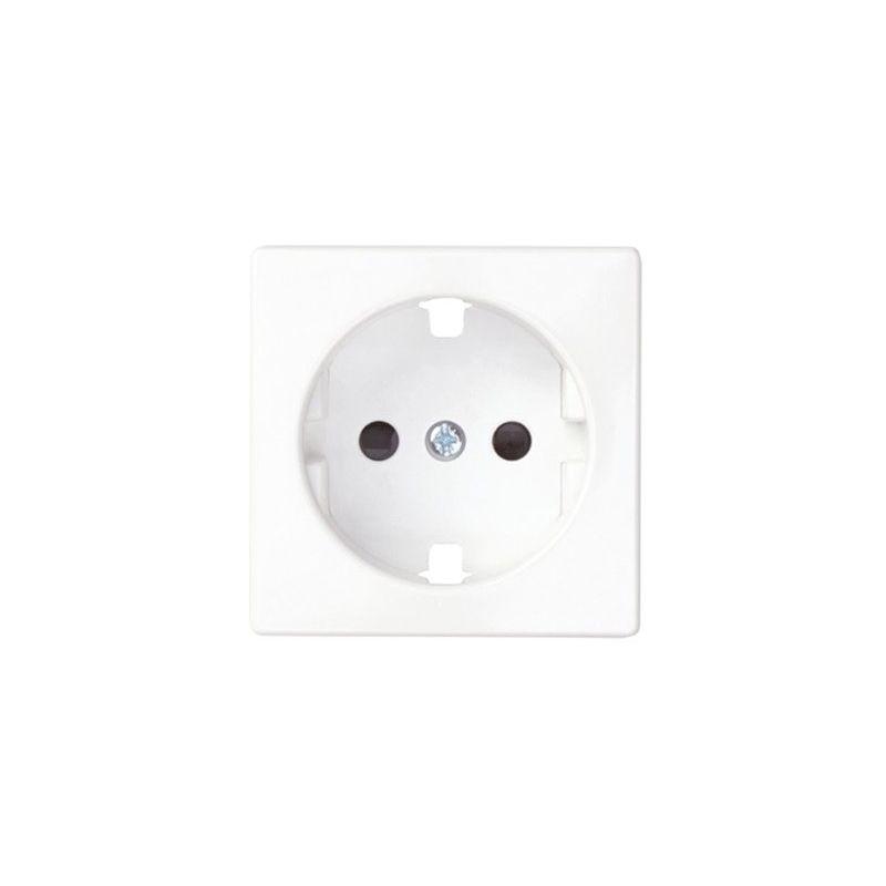 Interruptores y Enchufes por marca SIMON Tapa enchufe schuko blanco Simon 82