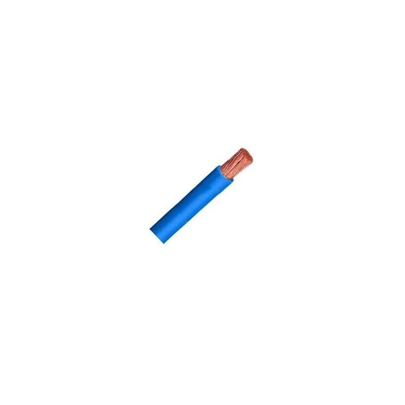 Cable libre de halógenos flexible 4 mm2 azul H07V-K