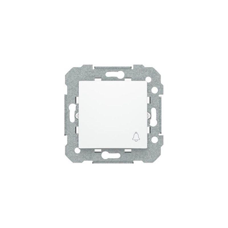 Pulsador blanco símbolo campana BJC Viva 23516-1