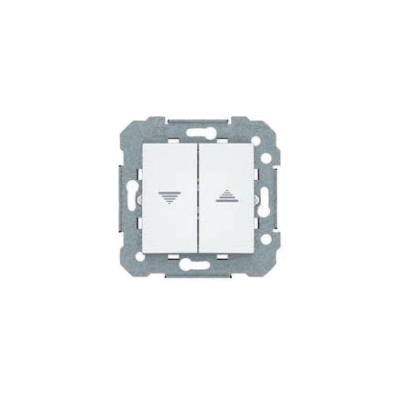 Doble interruptor persiana BJC Viva blanco 23569