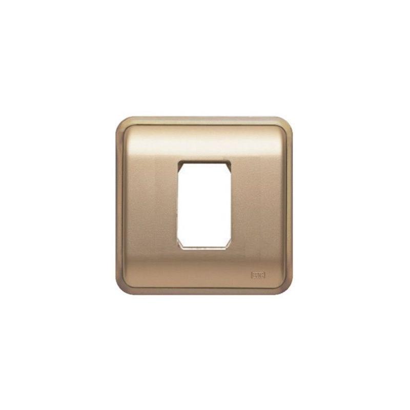 Interruptores y Enchufes por marca BJC Marco 1 elemento estrecho dorado BJC Rehabitat 16661-DR - reemplazo Estrella