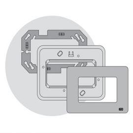 Interruptores y Enchufes por marca BJC Marco 3 elementos estrechos blanco BJC Rehabitat 16663-B - reemplazo Estrella