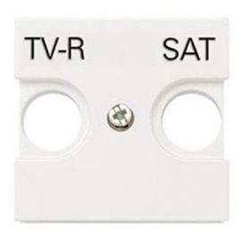 Tapa toma TV-R/SAT blanco Niessen Zenit N2250.1 BL