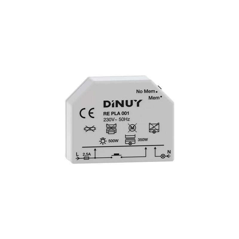 Reguladores de luz DINUY Regulador intensidad RE-PLA001