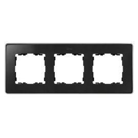 Marco 3 elementos grafito base cromo Simon 82 Detail 8201630-241