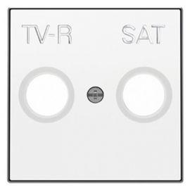 Tapa toma TV-R/SAT blanco Niessen Sky 8550.1 BL
