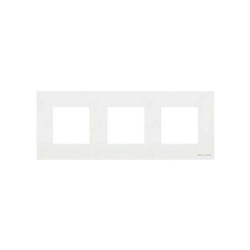 Zenit ABB NIESSEN Marco 3 elementos flotante blanco Zenit N2273 BL