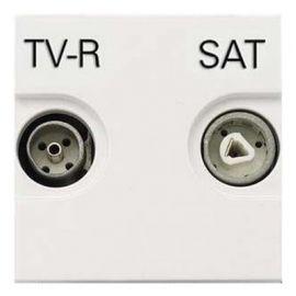 Toma TV-R/SAT Unica Blanco Niessen Zenit N2251.3 BL