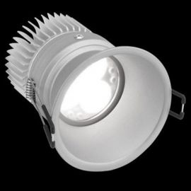 Aro de empotrar LED 12W regulable 706 WW Flood aluminio Simon