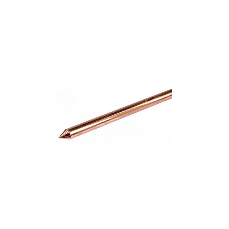 Puesta a tierra MORA Pica de cobre toma de tierra 2000x14 mm 100 micras lisa