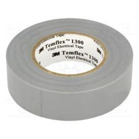 Cinta aislante gris de PVC 20 metros Templex 1300 3M