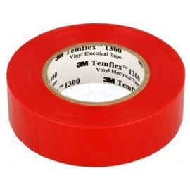 Cinta aislante roja de PVC 20 metros Templex 1300 3M