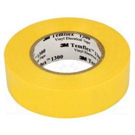 Cinta aislante amarilla de PVC 20 metros Templex 1300 3M