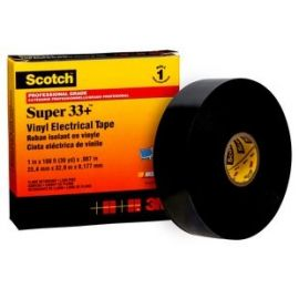 Cinta aislante color negro 33m x 19mm Scotch Súper 33