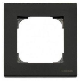 Marco 1 elemento negro soft Niessen Sky 8571 NS