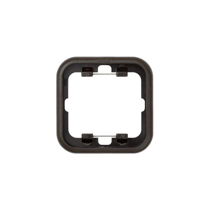 Interruptores y Enchufes por marca SIMON Marco termoplástico 1 elemento marrón Simon 31 Ref. 31610-32
