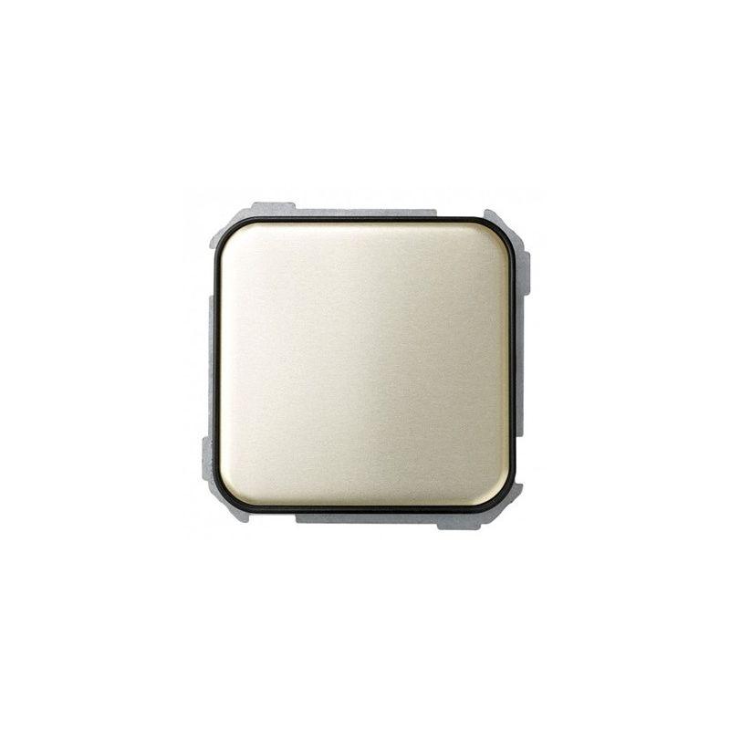 SIMON SIMON Interruptor unipolar 10AX marrón decorado Simon 31 Ref. 31101-36