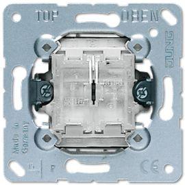 Interruptor pulsador doble Jung serie LS990 505TU