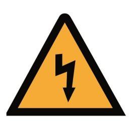 Señal triangular aluminio riesgo eléctrico AE-14S