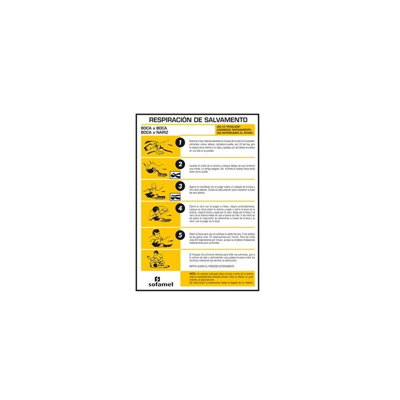 Elementos de seguridad MT SOFAMEL Señal PVC primeros auxilios PA-42-P 420X297mm