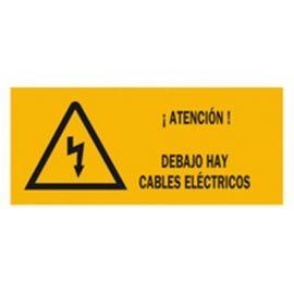 Rollo 500m Cinta señalización cables eléctricos CC
