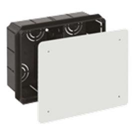 Caja empalmes 1 tabique separador 200x160x70 tapa tornillos