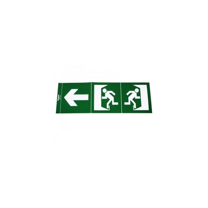 Emergencias LED LEGRAND Etiqueta adhesiva evacuación Legrand 060995
