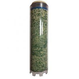 Cartucho filtrante para eliminar las sales minerales