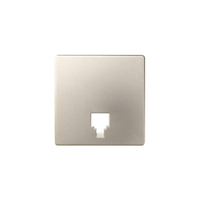 Interruptores y Enchufes por marca SIMON Tapa para toma de teléfono cava Simon 82062-64