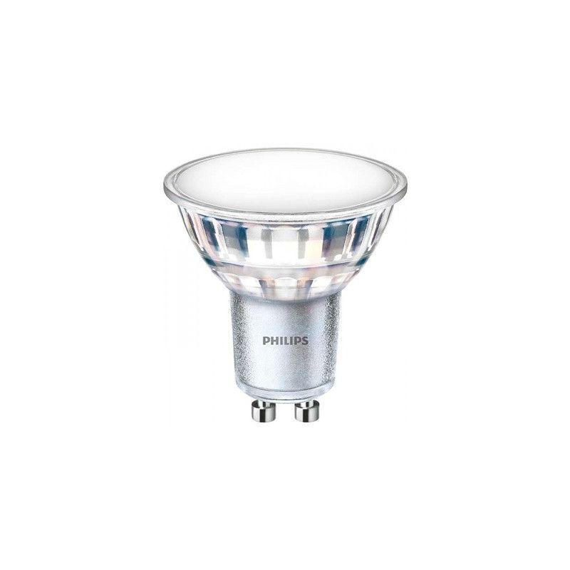 Lámparas LED con casquillo GU10 PHILIPS Bombilla LEDspot GU10 120º de apertura luz natural 840 5W Philips
