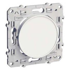 Interruptor blanco Schneider Odace S520201