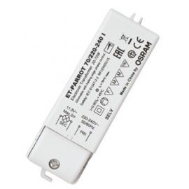 Transformador ET-Parrot 70W 230V-12V regulable Osram