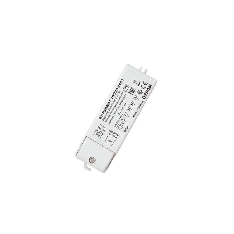 Accesorios LED LEDVANCE Transformador ET-Parrot 70W 230V-12V regulable Osram