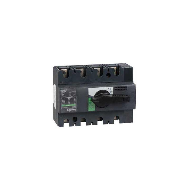 Aparellaje caja moldeada SCHNEIDER Interruptor-seccionador 160A 4P Compact INS160